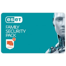 Licence ESET Family Security Pack, 3 stanic, 1 rok